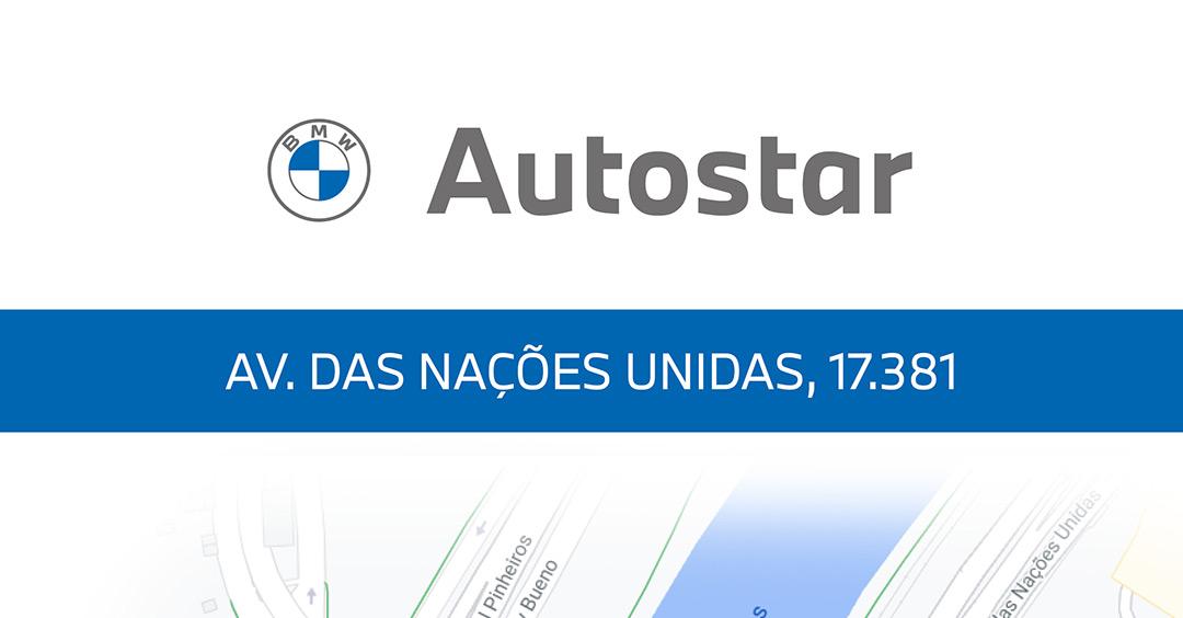 Conheça a localização da nova loja Autostar BMW